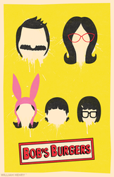 Bob's Burgers poster by billpyle