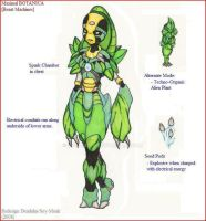 Redesign: Botanica by soy-monk