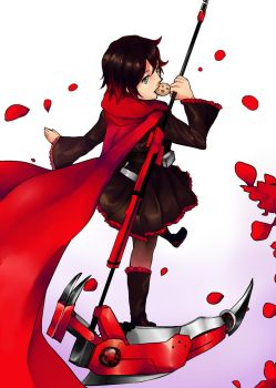 Rwby ruby by Neverominin
