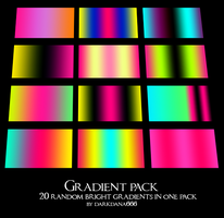 Gradient pack by darkdana666