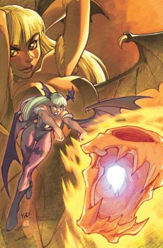 Darkstalkers - Issue 1 PF by UdonCrew