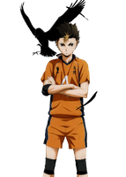 Nishinoya Yuu render by LopmoNify