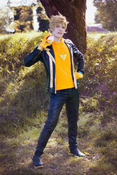 Spark, Team Instinct Leader ~ Pokemon GO Cosplay by Yamato-Leaphere