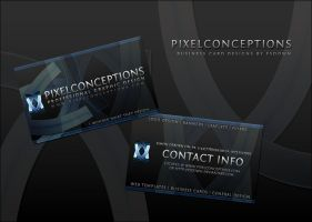 PixelConceptions Business Card by FSDown