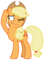 Vector: Applejack 30 by EStories