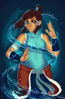 Korra by dreamwatcher7