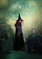 The Witch And Owl Fantasy Photo Manipulation by DesignArtStudio