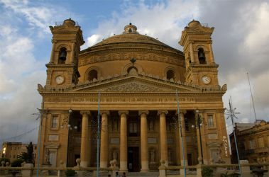 Rotunda of Mosta by Sockrattes