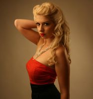 Stock - 50's blonde by CathleenTarawhiti