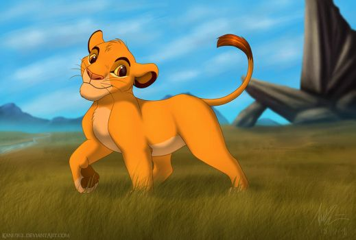 'Cub Simba' Revisited by KanuTGL
