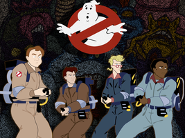 The Real Ghostbusters by webnerdette