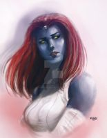 Mystique by Mark-Clark-II