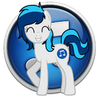 iTunes Pony Icon by LazyWhooves