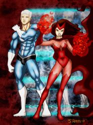 Superhero Siblings: Quicksilver  Scarlet Witch by TumbledHeroes