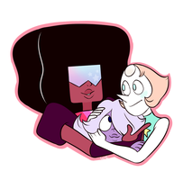 The crystal gems by Waackery