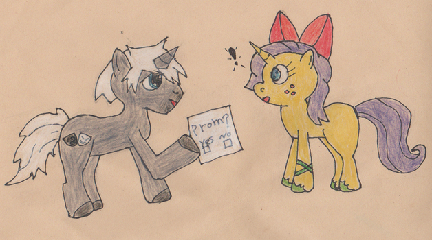 Charade's proposeal (Tubler Pony Prom 2014) by PonyCharade