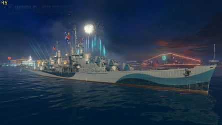 The Lovely Atlanta Class Cruiser by WorldofTanks