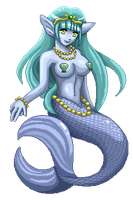 Fir the Mermaid by Bastet-sama