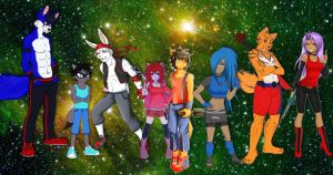 Cast of Hiro chronicles part 1 by kdrj4402