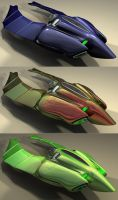 scarab coloured rear view by Adam-b-c