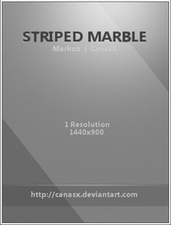 Striped Marble Wallpaper by CanasX