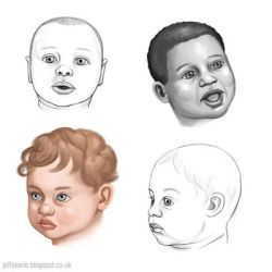 Baby heads by JeffSearle