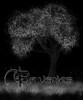 Free leaves, grass Brushes by Snow-Body