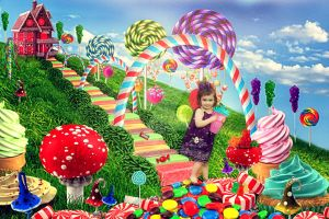 Candy Land fun by RebeccaDillahay