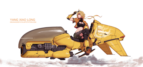 Yang Xiao Long 3.0 by dishwasher1910