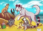 2018 The WOLF PACK  Summer Contest by RUNNINGWOLF-MIRARI