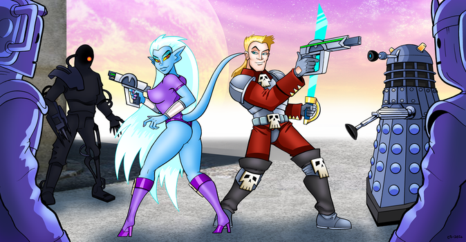 The Space Pirates by curtsibling