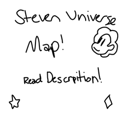 .:OPEN Steven Universe Map:. by SleepyStaceyArt