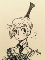 Bill (Quick Doodle)  by Ailizerbee08