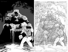 DK3 Inks by artist Tom kelly by TomKellyART