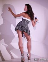 Perfect Legs of a Pin Up Goddess - Elena - LE by LegsEmporium