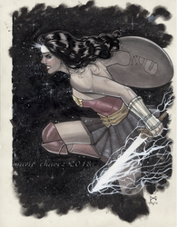 Wonder Woman by MarioChavez