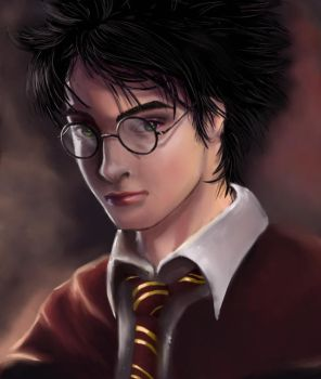 Just mister Harry Potter by Mute-Banshee