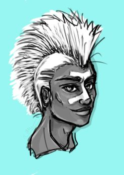 Sketch 47 -- Ekko by ArhyaM