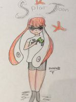 Rough Splatoon character by Pinkie---Dash