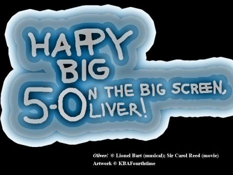 50th Anniversary Banner for Oliver! by KBAFourthtime