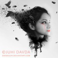 Abstract Self Portrait by davdajuhi