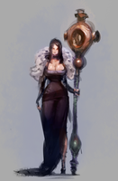 Mage Concept by mldoxy