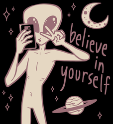 believe in yourself colored by jstaricka