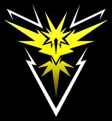 Pokemon Go: Team Instinct shirt design by kaizerin