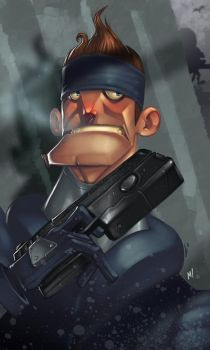 His Name is Solid Snake by Zatransis