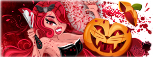 Halloween Banner 2013 by MissChatZ