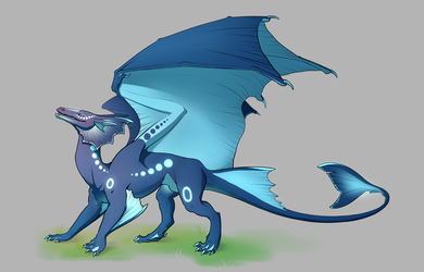 Midrast Wain: Water Dragon Male by xRashana