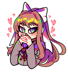 Patreon: Just Monika by Blushily