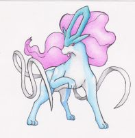 Suicune the water wolf