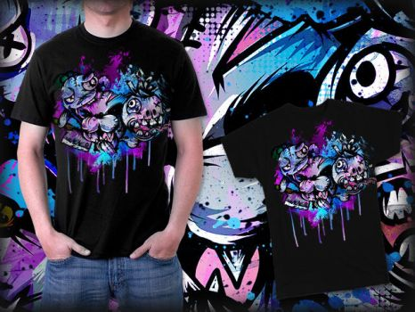 Creatures tee by AVZoffcial